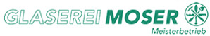 Logo glaserei moser